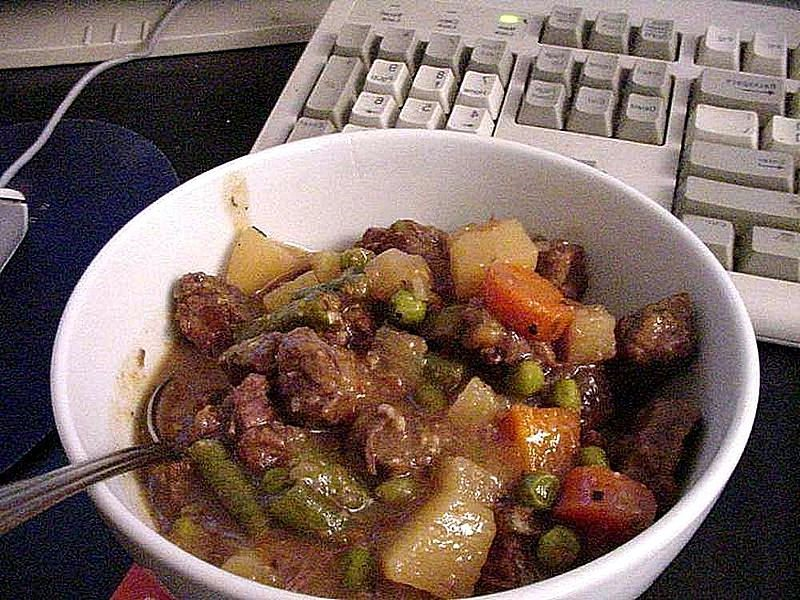 beef stew for dogs